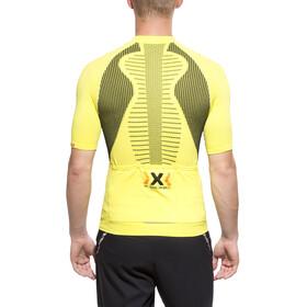 X-Bionic The Trick Biking SS Full Zip Shirt Men Green Sheen/Black